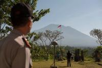 Pasca-Meletus, Jumlah Pengungsi Gunung Agung Justru Menurun