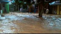 Tanggul Sungai Jebol 15 Meter, Puluhan Rumah Terendam Banjir