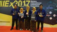 Mahasiswa Indonesia Raih Prestasi di Melaka International Intellectual Exposition