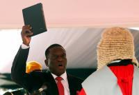 Dilantik sebagai Presiden Zimbabwe, Mnangagwa: Terima Kasih Robert Mugabe
