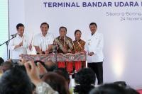 Baru Diresmikan, Presiden Jokowi Minta Menhub Terus Kembangkan Bandara Silangit