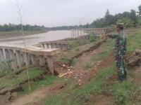 Tanggul Sungai Cimanuk Longsor, Sejumlah Desa di Indramayu Terancam Banjir