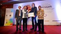 Bima Arya Terima Penghargaan Wali Kota Entrepreneur Award 2017