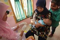 Difteri Jadi KLB, Petugas Posyandu Aceh Datangi Rumah Warga