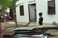 Puting Beliung Rusak Bangunan Rumah Warga di Pamekasan
