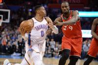 Oklahoma City Thunder Kandas, Houston Rockets Menangi Laga Overtime di NBA 2017-2018