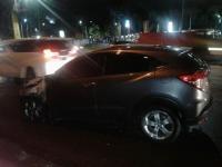 Korsleting Listrik di Kap Mesin, Honda HR-V Terbakar di Tangsel