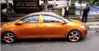 Mobil Bermuka Dua Muncul di Bandung, Polisi pun Bertindak
