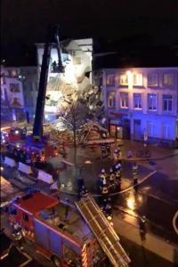 Ledakan Dahsyat Hancurkan Tiga Gedung di Belgia, Dua Orang Tewas