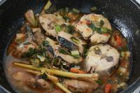 Lezatnya Sarapan dengan Woku Tongkol & Sop Kimlo Lobak Ikan Kakap