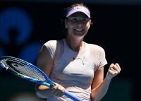 Sharapova Enggan Jemawa Usai Tampil Mengesankan
