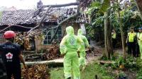 Angin Puting Beliung Rusak Sejumlah Rumah di Malang