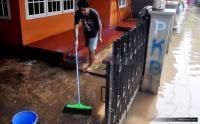 Banjir di Pamekasan Sudah Mulai Surut