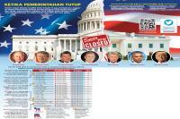 Pemerintahan AS Tutup Akan Ganggu Ekonomi, Ini Penjelasannya