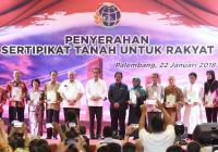 Jokowi: Pemberian Sertifikat Tanah Menghindari Konflik
