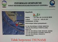 Trauma, Warga Garut Bandingkan Getaran Gempa Banten dengan Tasikmalaya