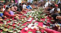 Festival Jenang di Solo Berlangsung Meriah, Ribuan Takir Ludes Diserbu Warga