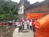 Perindo Santuni Korban Rumah Longsor di Semarang