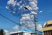 Deretan Erupsi Sinabung, Gunung yang