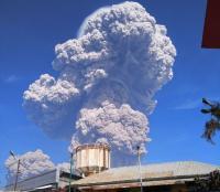 Gunung Sinabung Meletus, Kebun dan Rumah Warga Diselimuti Abu Vulkanis