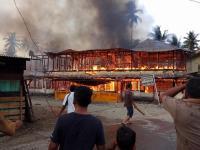Rumah Peninggalan Raja Mandailing Terbakar