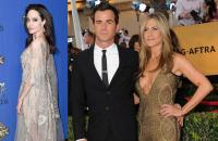 Angelina Jolie Tak Terkejut Dengar Jennifer Aniston & Justin Theroux Pisah