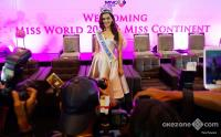 Selain Bali, Miss World 2017 Manushi Chhillar Ingin Kunjungi Sumatera