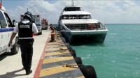 Ledakan di Kapal Feri Meksiko Sebabkan 25 Orang Terluka