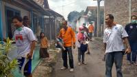 Cegah DBD, Perindo 'Asapi' Ratusan Rumah Warga di Pemalang