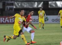 Sriwijaya FC Raih Kemenangan Tipis atas Persiba di Piala Gubernur Kaltim 2018