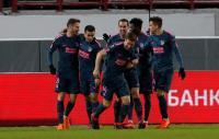 Simeone Puas Lihat Penampilan Atletico saat Bungkam Lokomotiv Moskow
