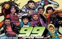 The 99! Komik Tentang Pahlawan Super Muslim