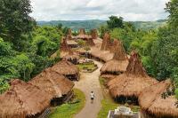 Rumah Tradisional Jadi Daya Tarik Kampung Adat Praijing Sumba