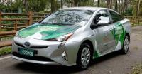 Toyota Ungkap Mobil Hibrid FFV Pertama di Dunia