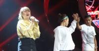 Cara Ghea Tunjukkan Kebahagiaan Usai Tereliminasi dari Indonesian Idol