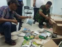3 Kg Sabu dan 4.950 Ekstasi Diamankan Pihak Bandara Sultan Mahmud Badarudin II