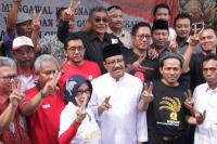 Gus Ipul-Puti Dapat Dukungan dari Forum Komunikasi Relawan Jokowi Jatim