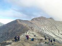 Ini Penjelasan PVMBG soal Letupan Gas Beracun di Gunung Ijen