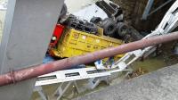 Polisi Berharap Bangkai Truk di Jembatan Babat Segera Dievakuasi
