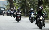 Satlantas Polrestro Bekasi Sterilkan Jalur Motor dari Angkot dan Ojol