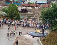 Heli Jatuh di Marowali, 1 Orang Tewas Terkena Baling-Baling