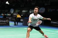 Anthony Ginting Kandas di Babak 16 Besar Kejuaraan Asia Bulu Tangkis 2018