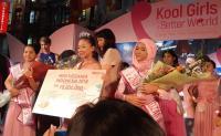 Kayla Ashifa Menangkan Mahkota Miss KidZania 2018