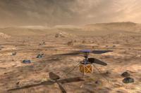 Helikopter Ini Akan Menjadi Pertama Mendarat di Mars
