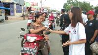 Kader Partai Perindo Pemalang Bagikan Takjil Sebanyak 250 Bungkus