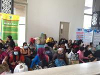 118 TKI Ilegal Dideportasi dari Malaysia Melalui PLBN Entikong