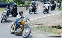 Terinspirasi Jokowi Seorang Pria Nekat Modifikasi Motor Chopper, saat Jalan Malah Kena Razia