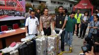Remaja Pencuri Koper Diperiksa Polisi dengan Didampingi Orangtua