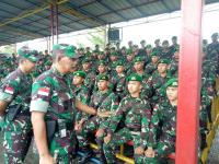 Rotasi Prajurit di Perbatasan RI-Malaysia, Pangdam Tanjungpura: Jangan Jual Negara!