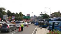 Hari Terakhir Libur Lebaran, Jalur Puncak Menuju Jakarta Macet